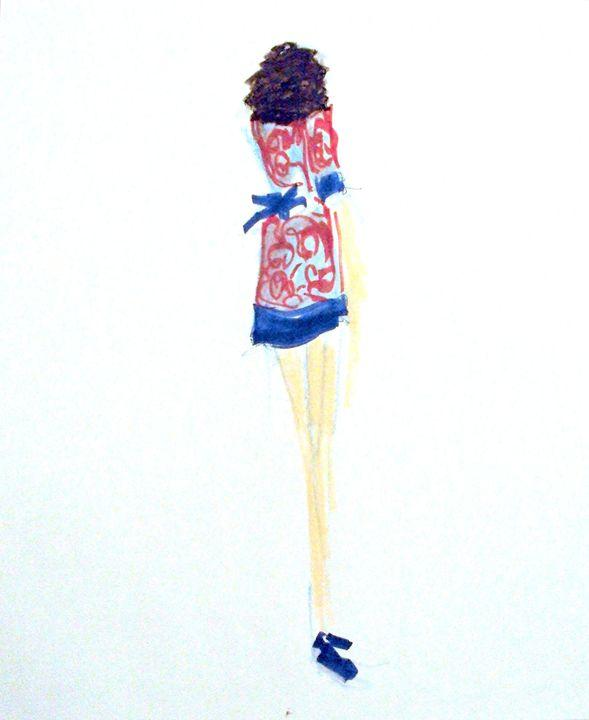 Georgine No 1 - Heather Royal