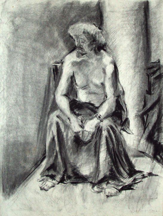 Man Resting - Heather Royal