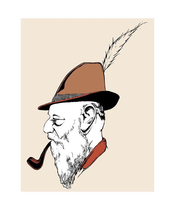 Old geezer - MoodswingsPrints