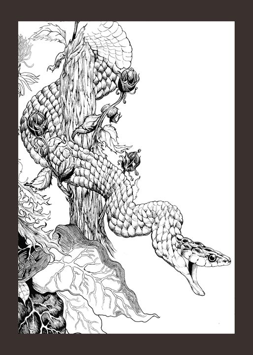 Snake - MoodswingsPrints