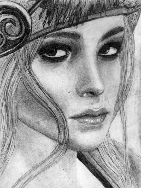 Priscilla Interpretation - Luke Mitchell's Art