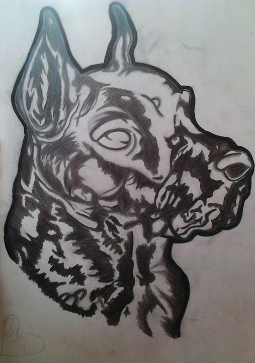 dogs - samantha lyns art