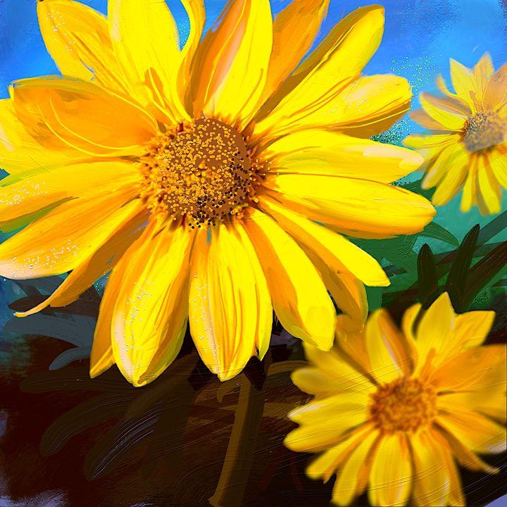 Tiny flowers. - Das Menon