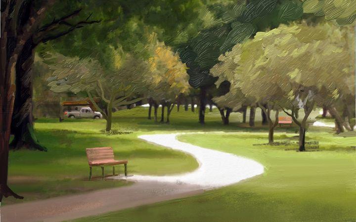 Park bench - Das Menon