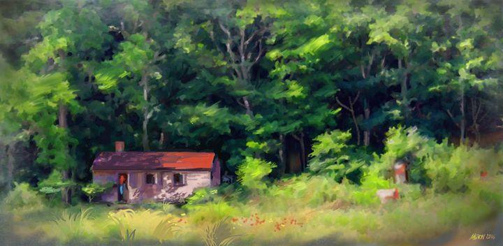 Red cabin - Das Menon