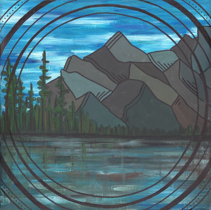 Mountain in View - ElizabethPaintingCo