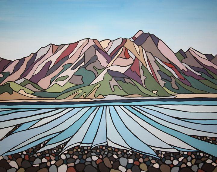 Sheep Mountain, Yukon - ElizabethPaintingCo