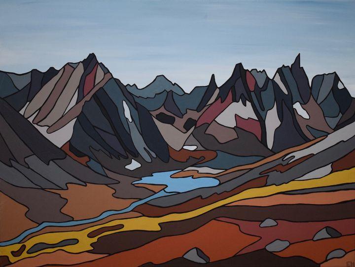 Mount Monolith, Yukon - ElizabethPaintingCo