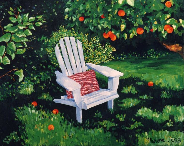 Shaded Chair - The Delaney Odyssey