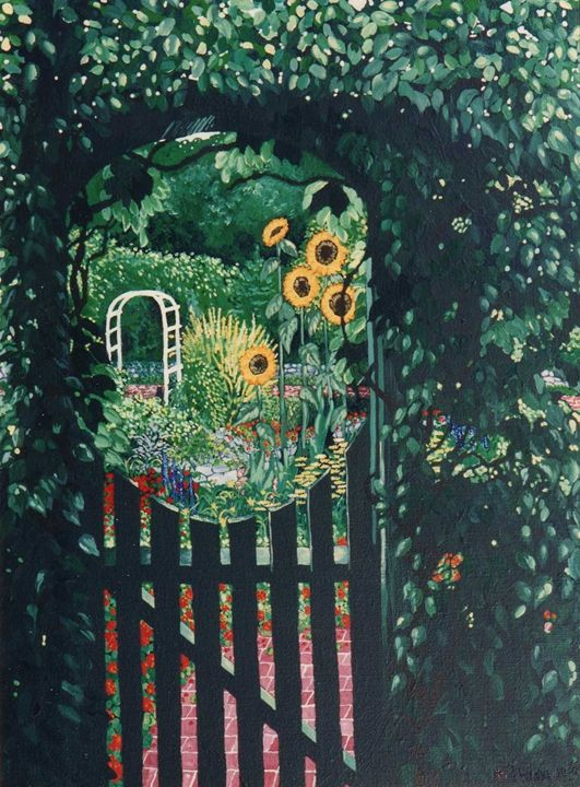 Gate to the Secret Garden - The Delaney Odyssey