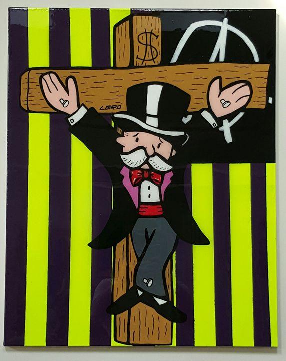 Monopoly Guy - Artwork by Lóro