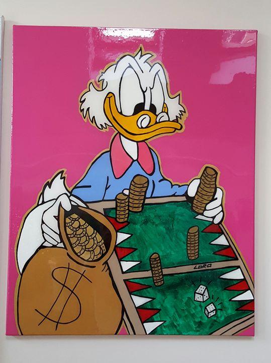 Winner Winner - Uncle Scrooge - Artwork by Lóro