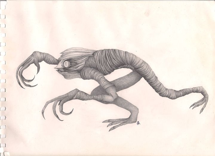 Creature - My drawings