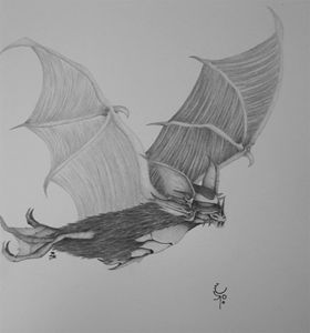 Bat like creature