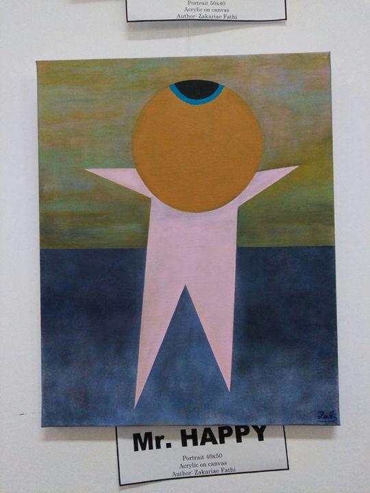 Mr. Happy - Ixhen art