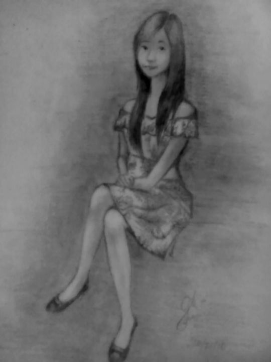 girl in a dress - GM Garcia