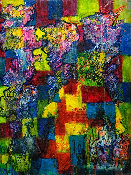 Blocks - Running Man - Ele Smith
