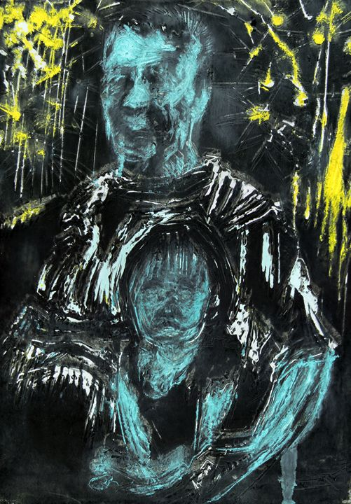 Old man and child - Ele Smith