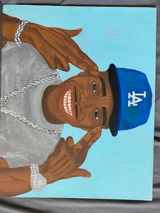 Dababy canvas painting