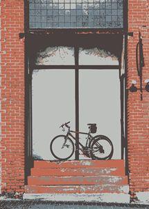Bike in Doorway