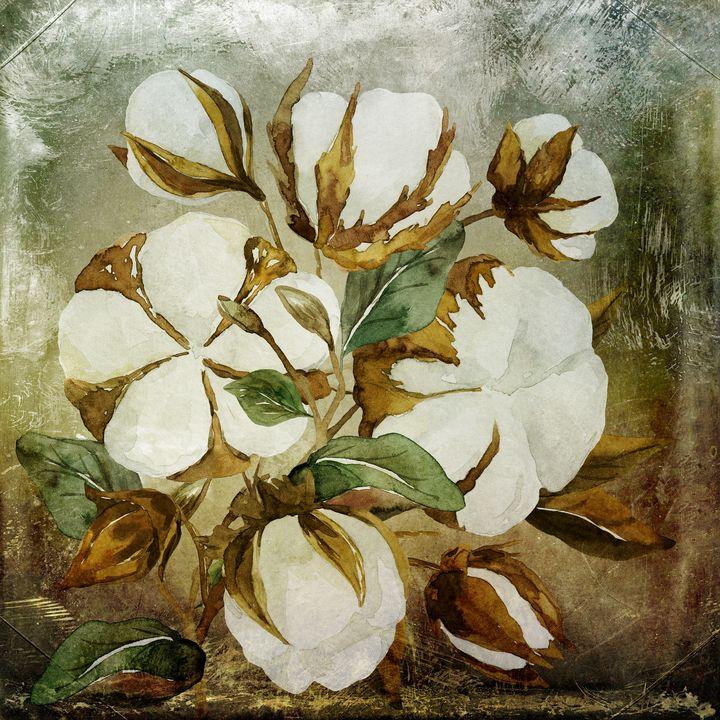 Cotton Bouquet Vintage - Beautiful Quotes
