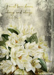 Magnolia Bouquet Quote – Vintag - Mohlala Design