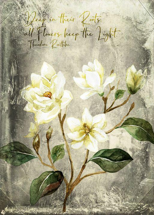 Magnolia Branch Quote – Vintage - Beautiful Quotes