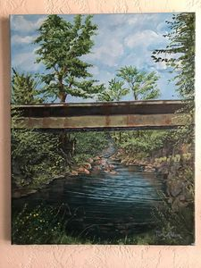 Geneseo creek - LuxuryArtPaintings