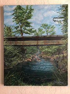 Geneseo creek - LuxuryArtPaintings