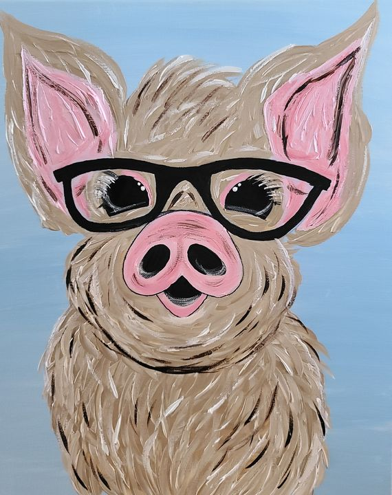 Harry the pig - Trennabells Treasures