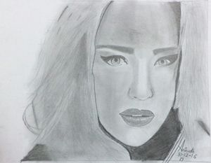 Caity Lotz sketch