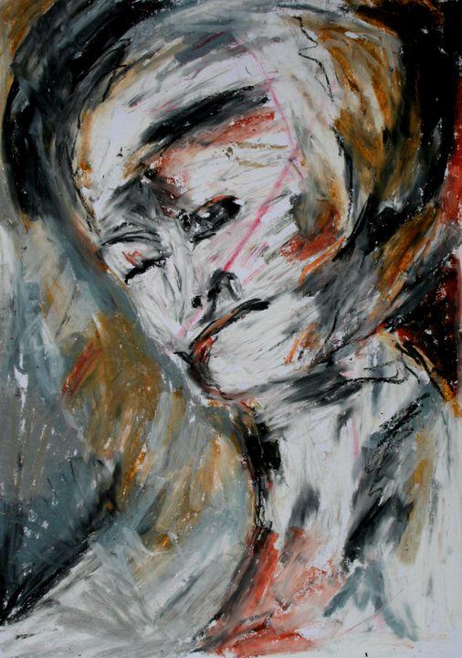 Woman's head - Patrik Šíma
