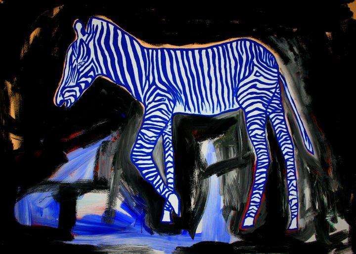 Blue zebra - Patrik Šíma
