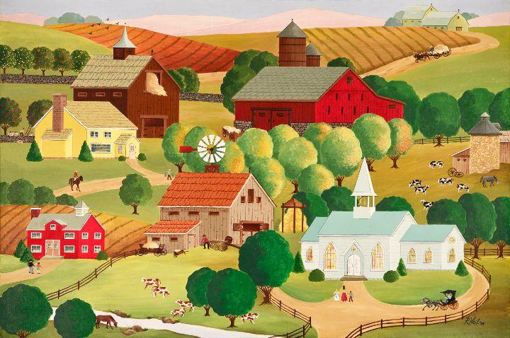SUMMERTIME–HARVESTIME - RTW Folk Art