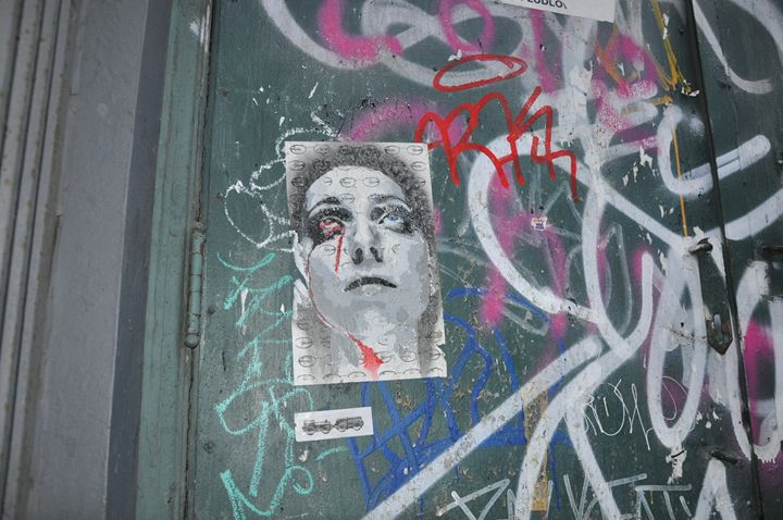 Street art - Layla
