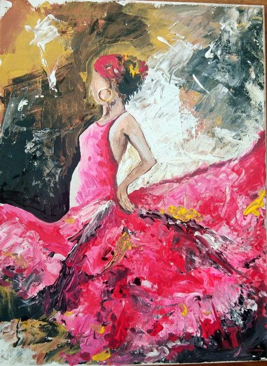 Dancing girl - mitra