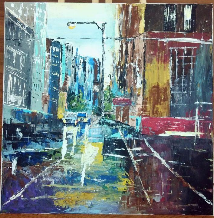 Rainy day city - mitra