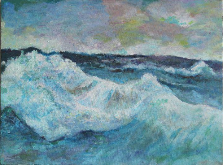 Seawave Painting - Winnie's Painting