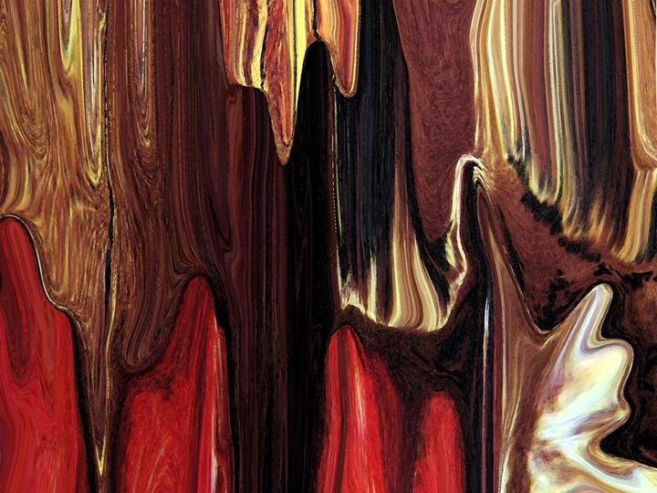 Bring The Curtain Down - Lens Art By Florene