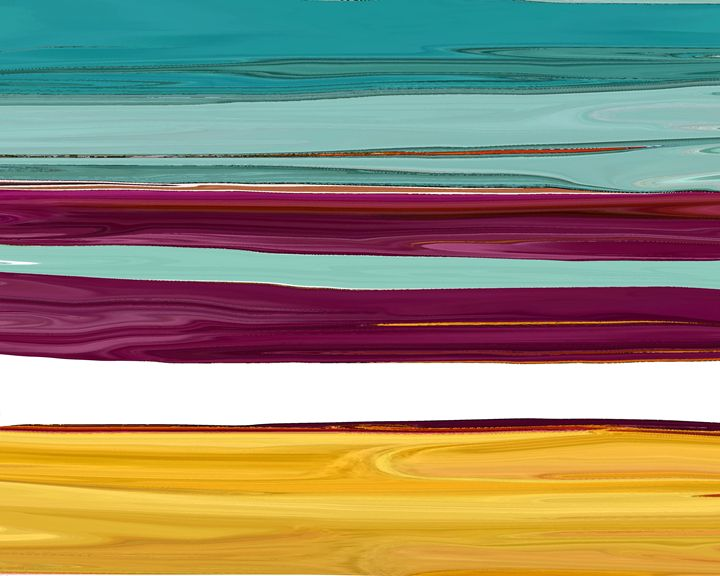 Along The Lines - Lens Art By Florene