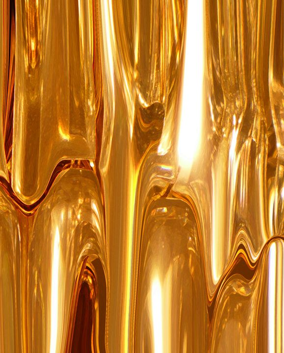 Liquid Gold - Lens Art By Florene