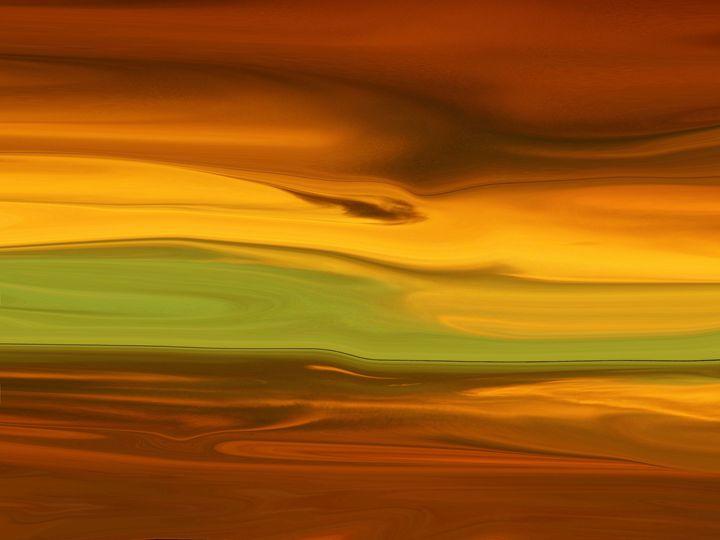Study In Orange - Lens Art By Florene