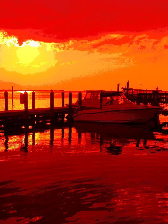 Boaters Beware - Lens Art By Florene