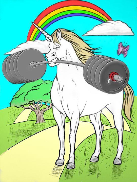Unicorn power - Tim Addison