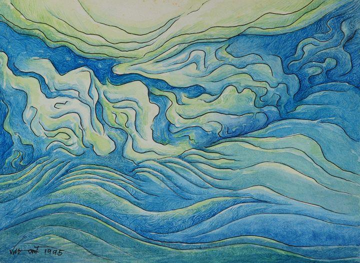 Blue Clouds - Pracha