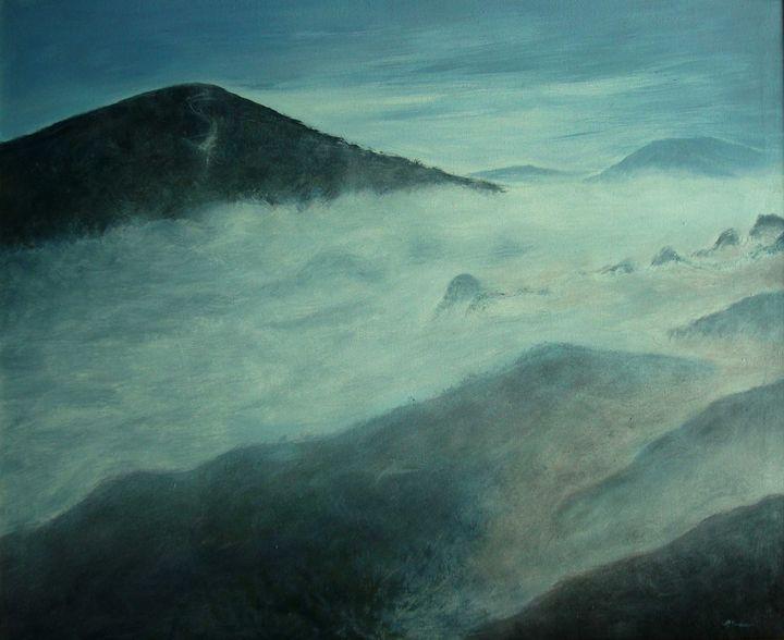 In the fog - Pracha
