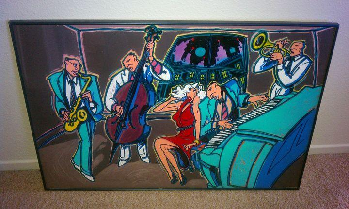 Jazz Hawks - Used art