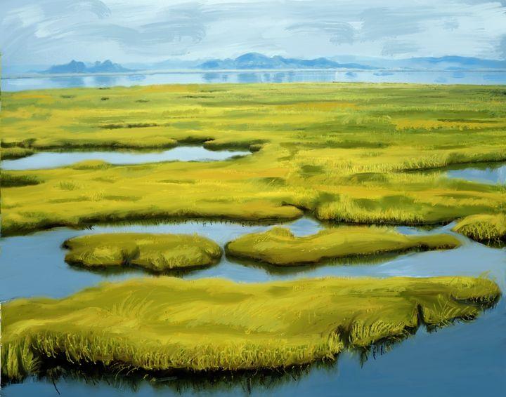 Green Flats - Nancy Davies Tang