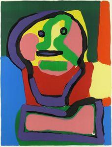 """Karel Appel""""Personnage du Face"""""""