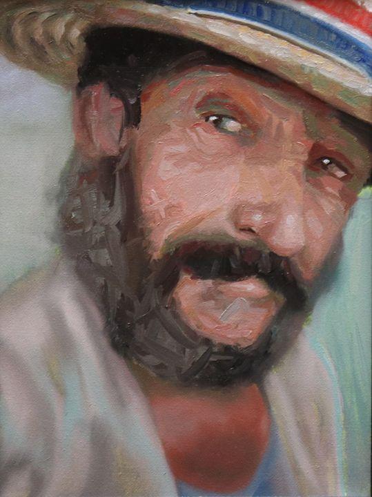 Patriot Impressionistic - Mykul Lee Fine Art
